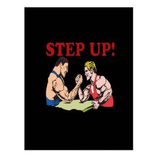 Step Up Postcard