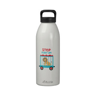 Step Up Right! Water Bottle
