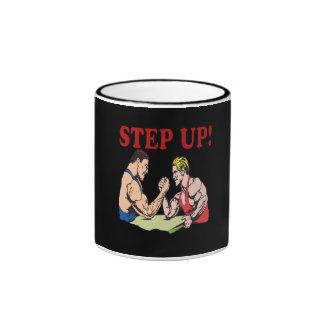 Step Up Ringer Coffee Mug