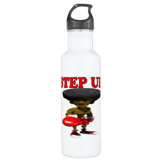 Step Up Stainless Steel Water Bottle