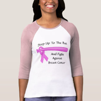 Step Up To The Bat Breast Cancer Tshirt