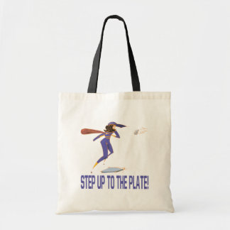 Step Up To The Plate Tote Bag
