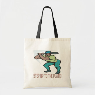 Step Up To The Plate Canvas Bags