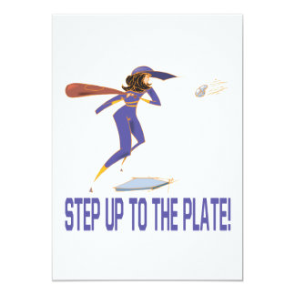 Step Up To The Plate Card