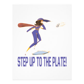 Step Up To The Plate Flyer