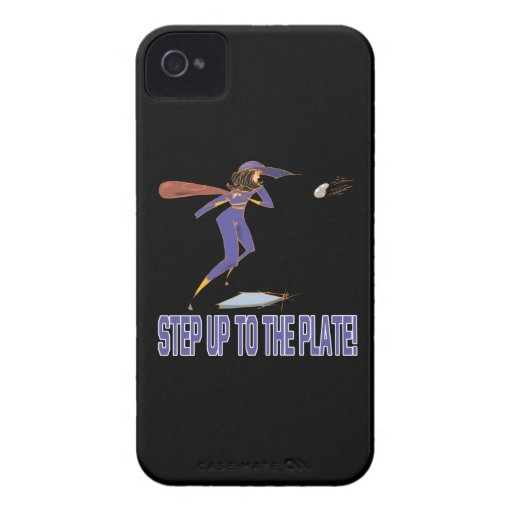 Step Up To The Plate iPhone 4 Case-Mate Case