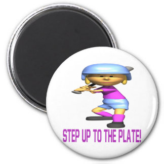 Step Up To The Plate Magnet