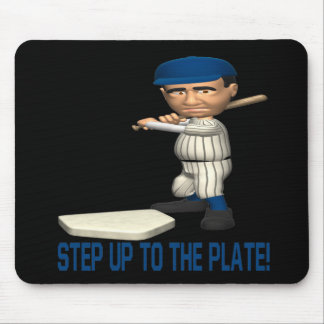 Step Up To The Plate Mouse Pad