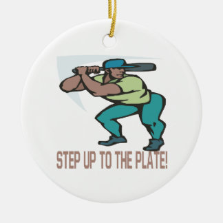 Step Up To The Plate Ornament
