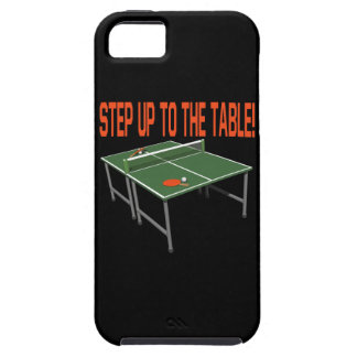 Step Up To The Table iPhone 5 Cases