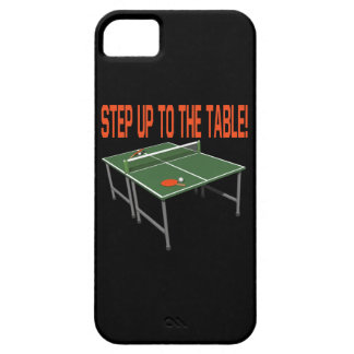 Step Up To The Table iPhone SE/5/5s Case