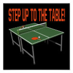 Step Up To The Table Posters