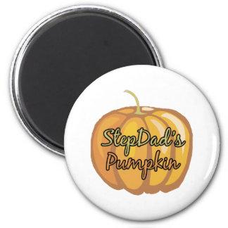 StepDad's Pumpkin 2 Inch Round Magnet
