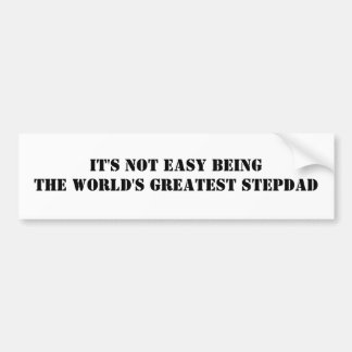 Stepdad Bumper Sticker
