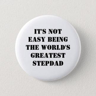 Stepdad Pinback Button