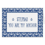 Stepdad-You Are My Anchor-Happy Father's Day Card