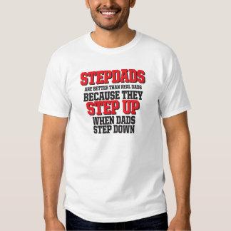 Stepdads step up t shirt