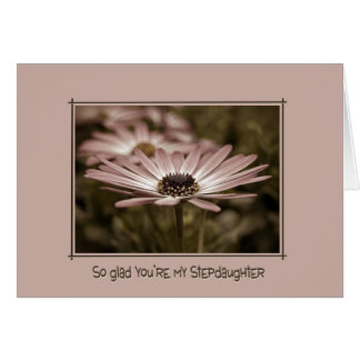 Stepdaughter Greeting Card