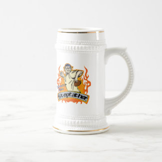 Stepfather Baseball Father's Day Gifts 18 Oz Beer Stein