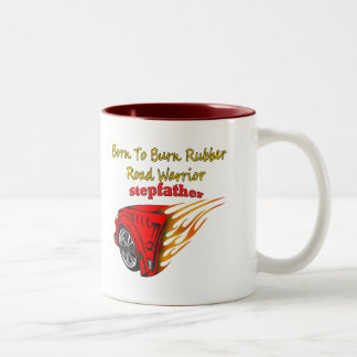 Stepfather Burn Rubber Racing Gifts Coffee Mugs