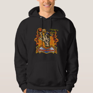 Stepfather Fathers Day Basketball Gifts Hoodie