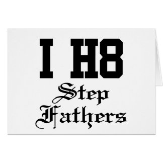 stepfathers greeting cards