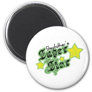 Stepfather's Super Star 2 Inch Round Magnet