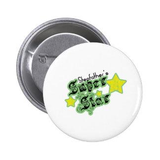 Stepfather's Super Star Pinback Button