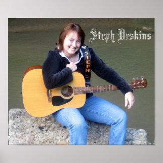 Steph Deskins Poster #2
