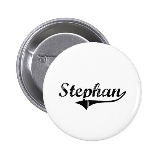Stephan Classic Style Name Buttons