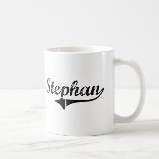 Stephan Classic Style Name Classic White Coffee Mug