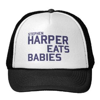 Stephan Harper come Gorros Bordados