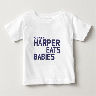 Stephan Harper eats babies Tee Shirt