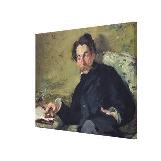 Stephane Mallarme  1876 Canvas Print