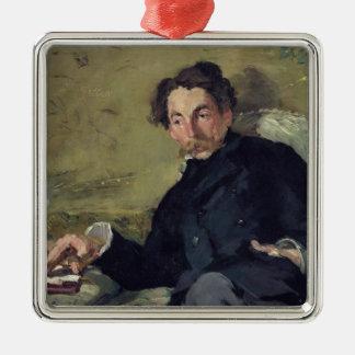 Stephane Mallarme  1876 Metal Ornament