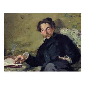 Stephane Mallarme  1876 Postcard