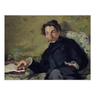 Stephane Mallarme  1876 Poster
