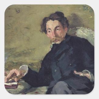 Stephane Mallarme  1876 Square Sticker