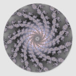 Stephani Fractal Classic Round Sticker