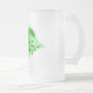 Stephanie 16 Oz Frosted Glass Beer Mug