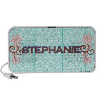 Stephanie 3D Geometric & floral art speaker