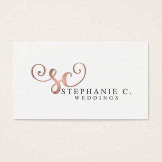 Stephanie C Weddings Business Card