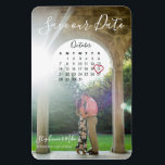 "Stephanie &amp; Mike Save the Date Magnet<br><div class=""desc"">Custom</div>"