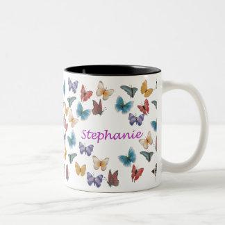 Stephanie Two-Tone Coffee Mug