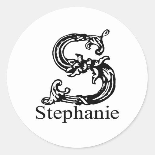Stephanie Pegatina Redonda