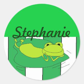 Stephanie personalized Stickers