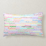 Stephanie Text Design II Lumbar Pillow