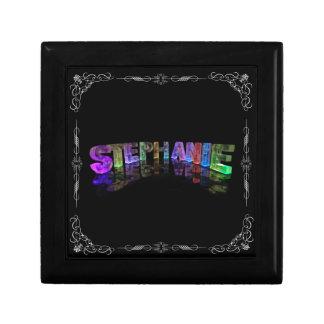 Stephanie  - The Name Stephanie in 3D Lights (Phot Gift Box