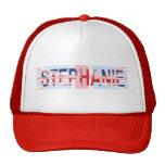 Stephanie, Union Jack design Mesh Hat