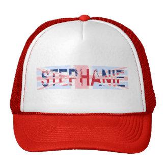 Stephanie, Union Jack design Trucker Hat